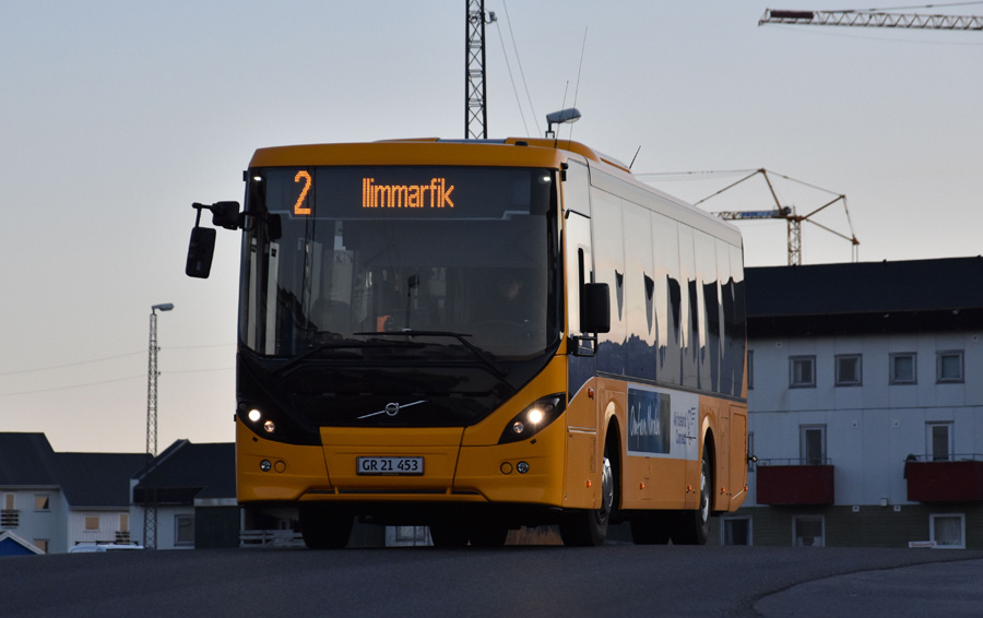Nuup Bussii 21/GR21453 på Nussuaq i Nussuaq i Grønland den 26. september 2019