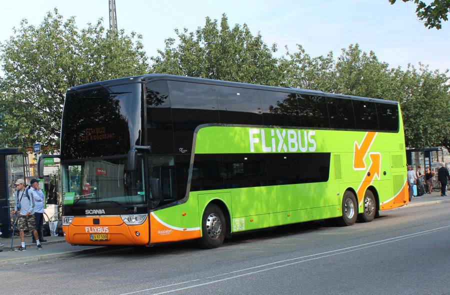 Holstebro Turistbusser 19/BX97500 på Ingerslevsgade i København den 19. juli 2019