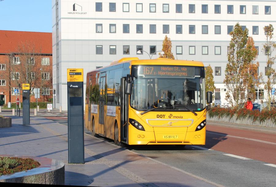 Nobina 6117/XS89917 ved Herlev Station den 30. oktober 2019