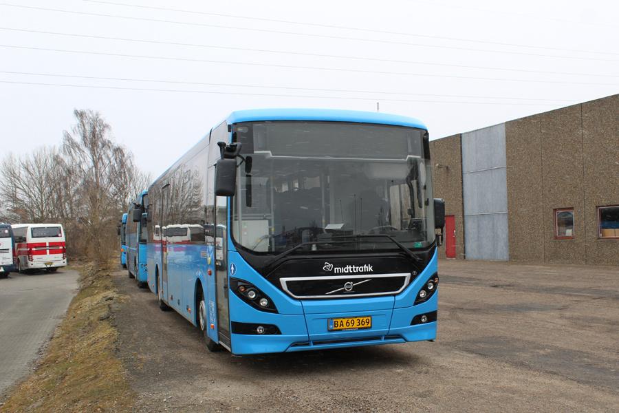 Todbjerg Busser 22/BA69369 på Sintrupvej i Brabrand den 29. marts 2018