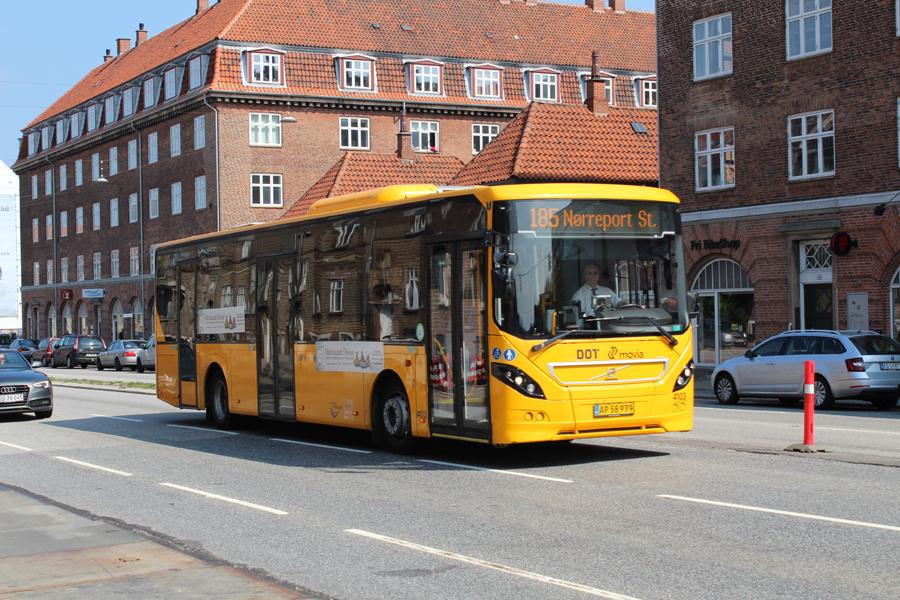 De Blaa Omnibusser 4103/AP58939 på Lyngbyvej i København den 19. maj 2019