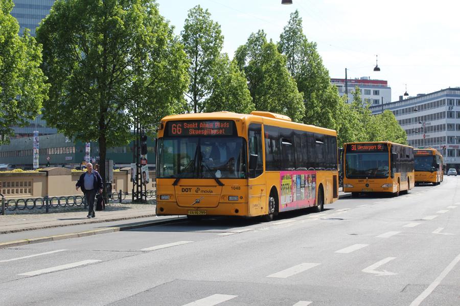 Arriva 1048/XN90799 ved Vesterport Station i København den 19. maj 2019