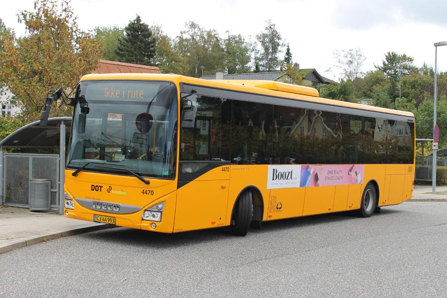 Lokalbus 4470/CJ44993 ved Ølstykke Station den 28. september 2019