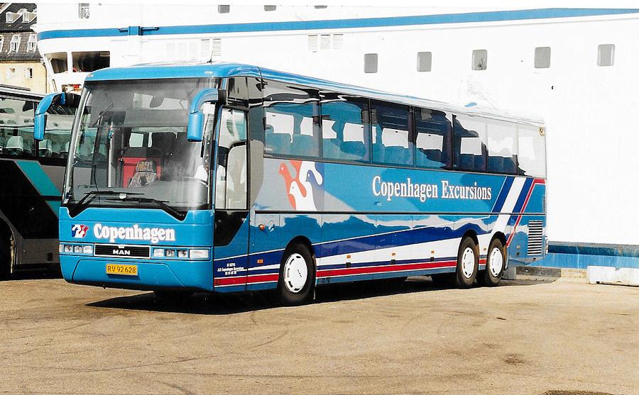 Copenhagen Excursions 43/RV92628 på Kvæsthusbroen i København den 29. juli 2001