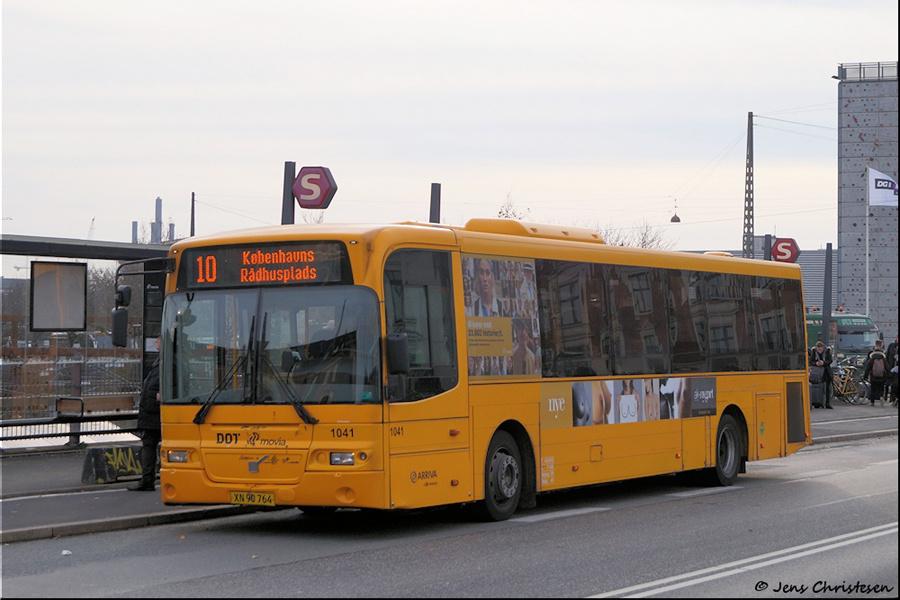 Arriva 1041/XN90764 på Tietgensgade i København den 1. november 2019