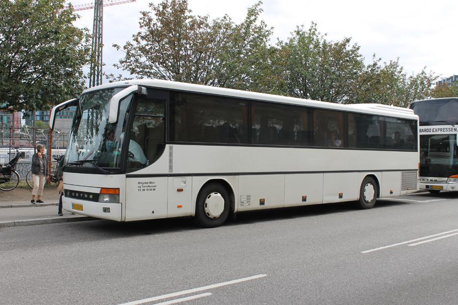 Østjydsk Mini- og Turistbusser CK53072 på Ingerslevsgade i København den 12. september 2019