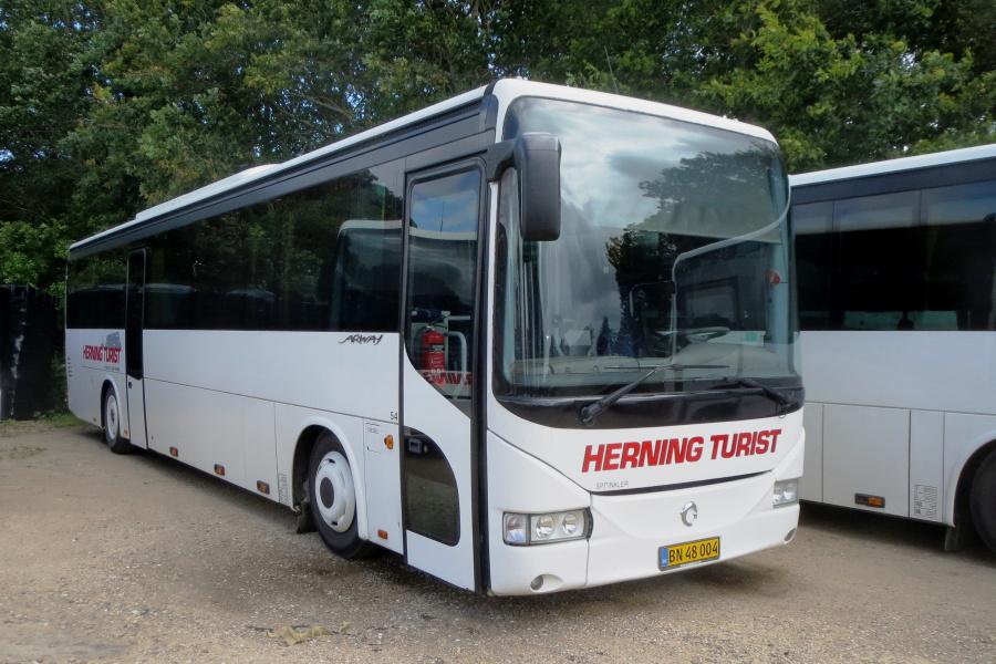 Brande Buslinier 54/BN48004 i Vinderup den 5. juli 2019