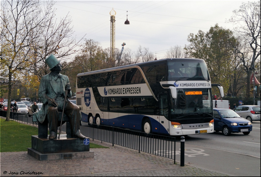 Københavns Bustrafik 52/AZ60101 på H. C. Andersens Boulevard i København den 1. november 2019