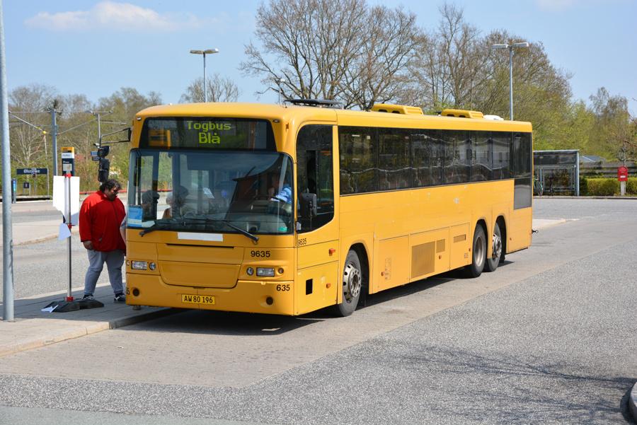 Meløse Bus AW80196 ved Ølstykke Station den 28. april 2018