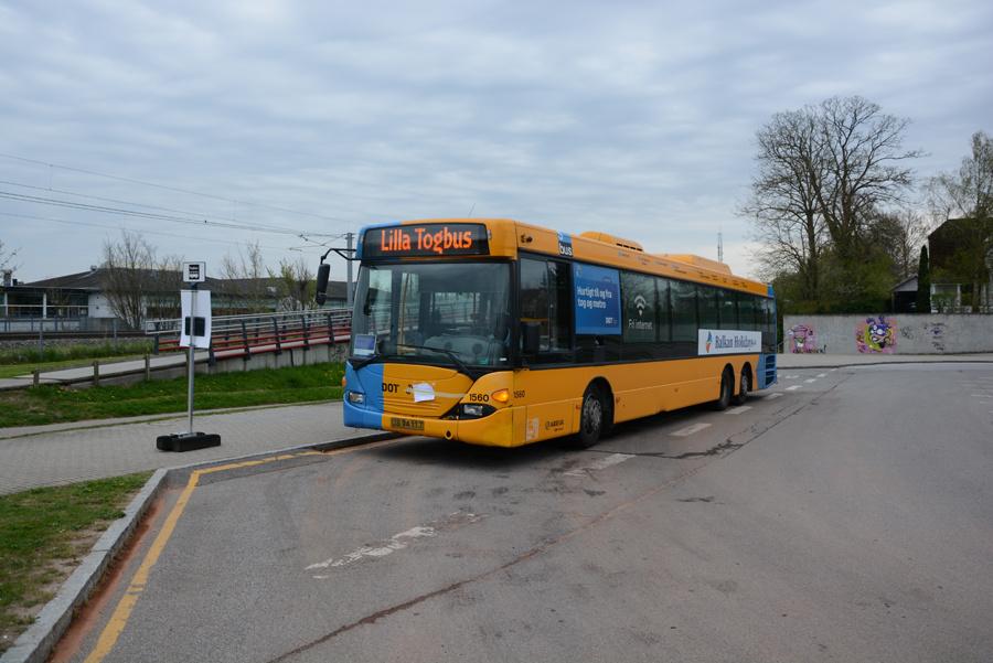 Arriva 1560/UB94117 ved Stenløse Station den 28. april 2018