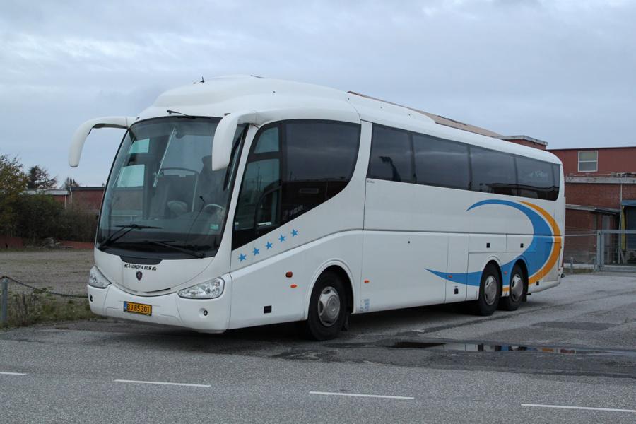 Scanoropa BJ85301 ved Søndre Industrivej i Tønder den 11. november 2019