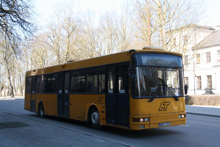 Busturas 1207/BGV873 i Šiauliai i Litauen den 16. marts 2015