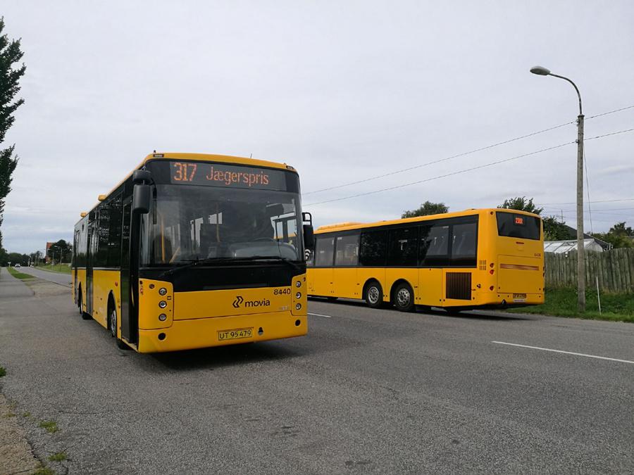 Keolis 8440/UT95479 i Over Dråby den 9. august 2019