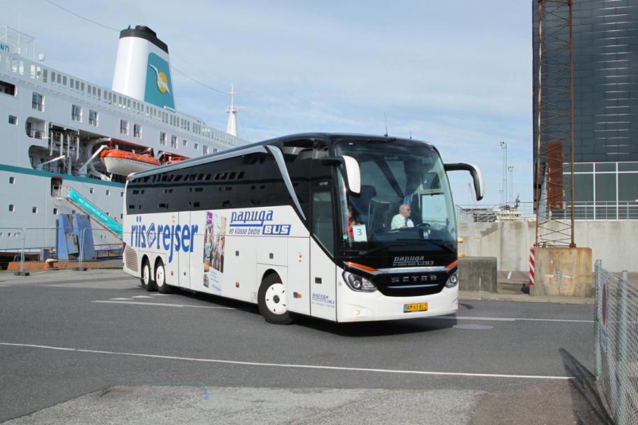 Papuga Bus 36/AM63812 på Englandskaj i Esbjerg den 10. juli 2019