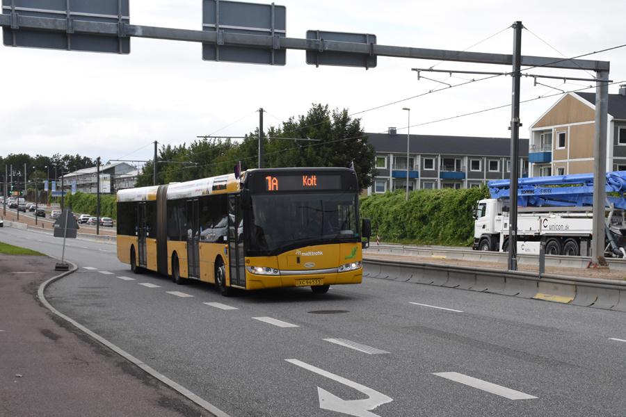 Århus Sporveje 480/XC94533 på Randersvej i Århus den 31. august 2017