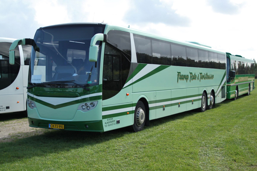 Faarup Rute- og Turistbusser 21/CH73991 Ved Ribe Vikinge Center syd for Ribe den 12. september 2019