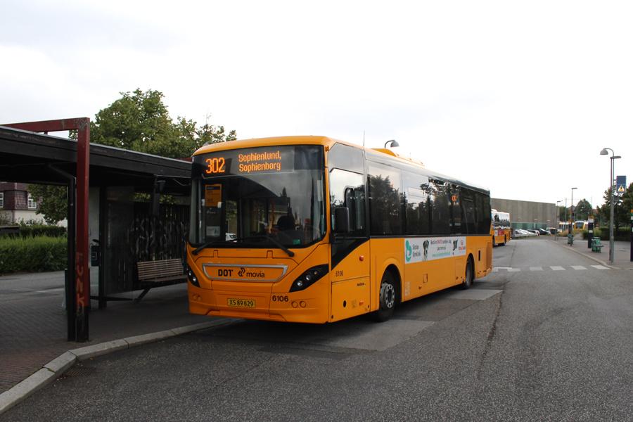 Nobina 6106/XS89629 ved Hillerød Station den 7. juli 2019