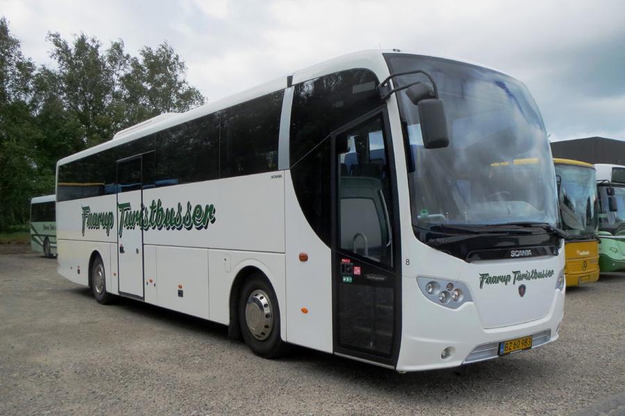 Faarup Rute- og Turistbusser 8/BZ60983 i Faarup den 3. juli 2019
