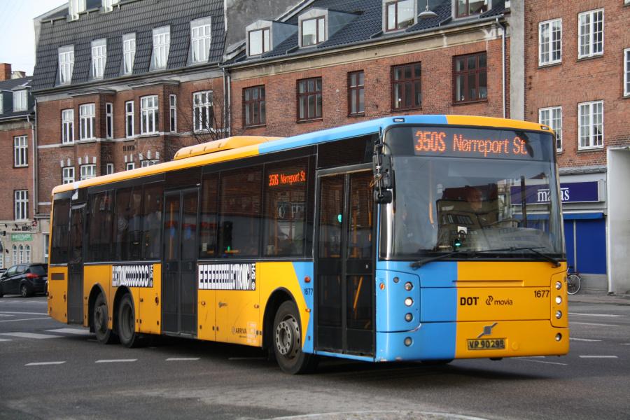 Arriva 1677/VP90295 ved Brønshøj Torv den 1. december 2019