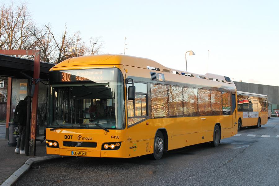 Nobina 6458/CL69141 på Hillerød st. den 29. november 2019