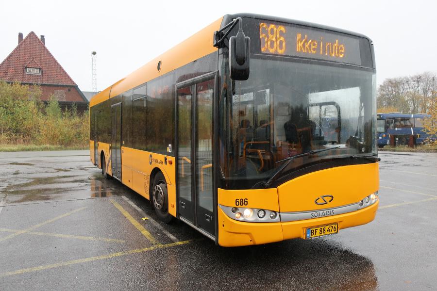 Umove 686/BF88476 på Gammelhavn i Vejle den 26. oktober 2019