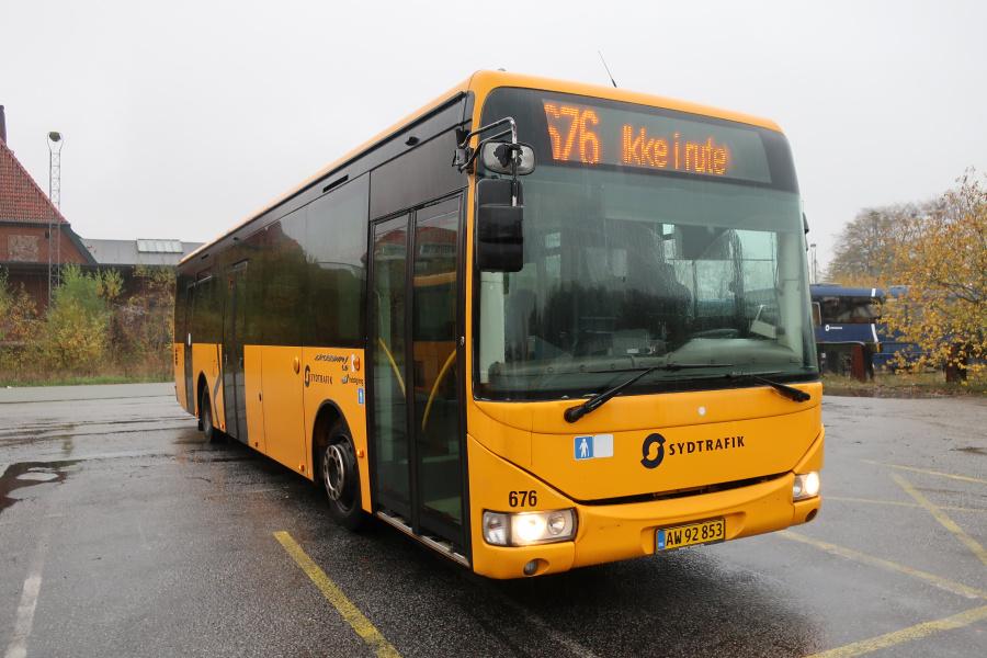 Umove 676/AW92853 på Gammelhavn i Vejle den 26. oktober 2019