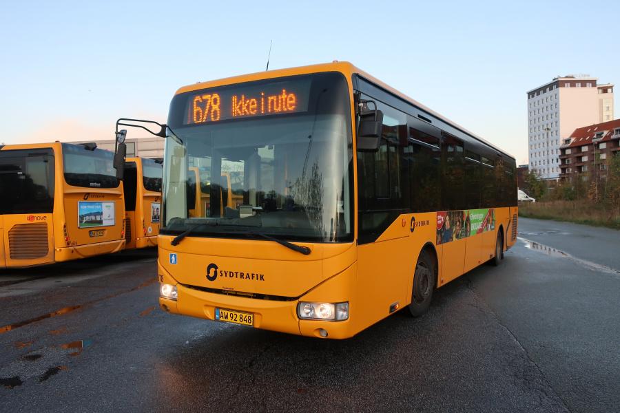 Umove 678/AW92848 på Gammelhavn i Vejle den 27. oktober 2019