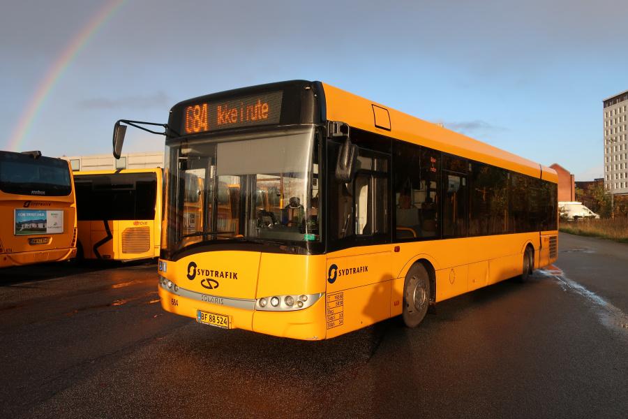 Umove 684/BF88524 på Gammelhavn i Vejle den 27. oktober 2019