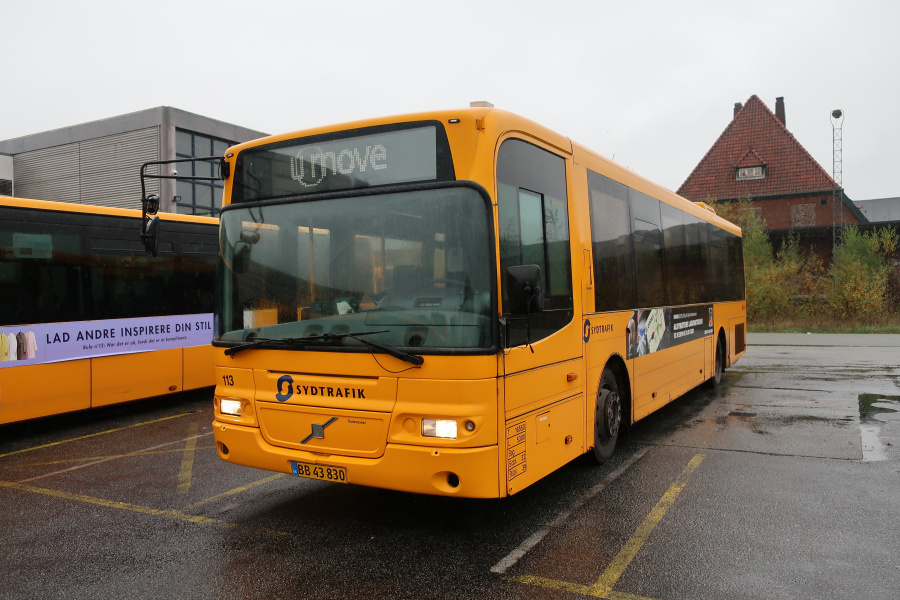 Umove 113/BB43830 på Gammelhavn i Vejle den 26. oktober 2019