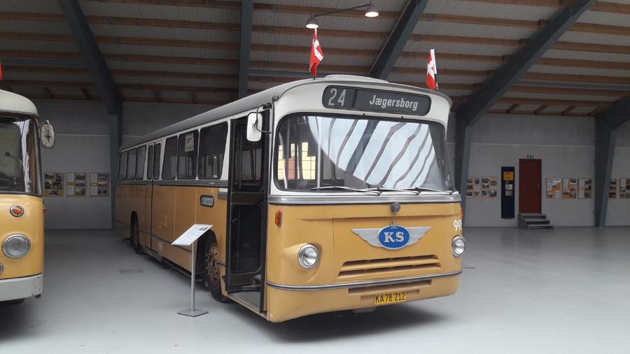 KS 995 på Sporvejsmuseet Skjoldenæsholm i 2018