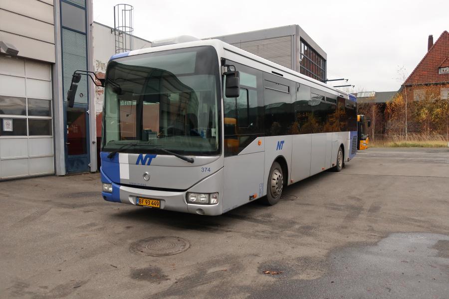 Umove 374/BF93449 på Gammelhavn i Vejle den 15. november 2019
