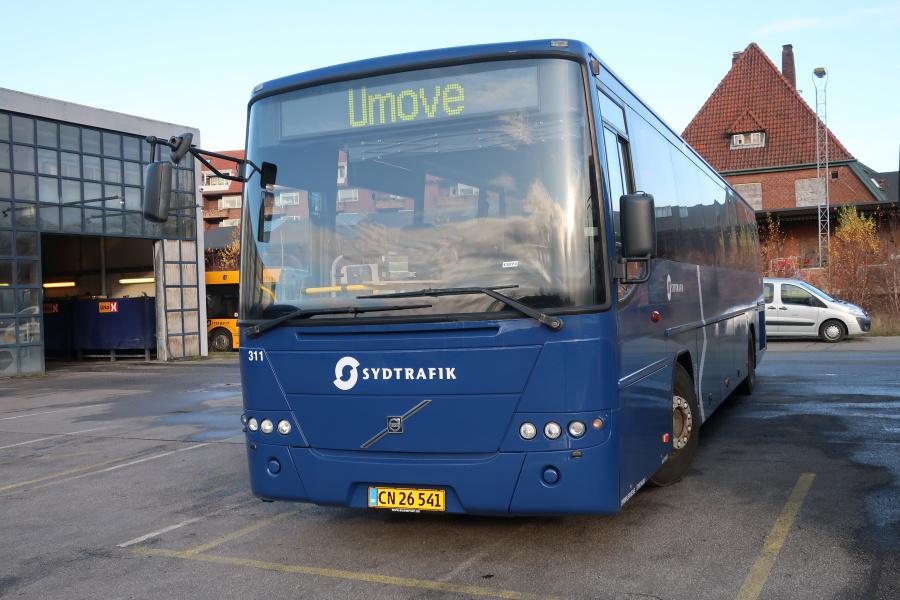 Umove 311/CN26541 på Gammelhavn i Vejle den 20. november 2019