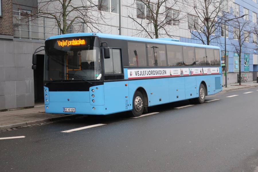Vejle Fjordskolen BE40406 på Vejle Trafikcenter den 19. november 2019