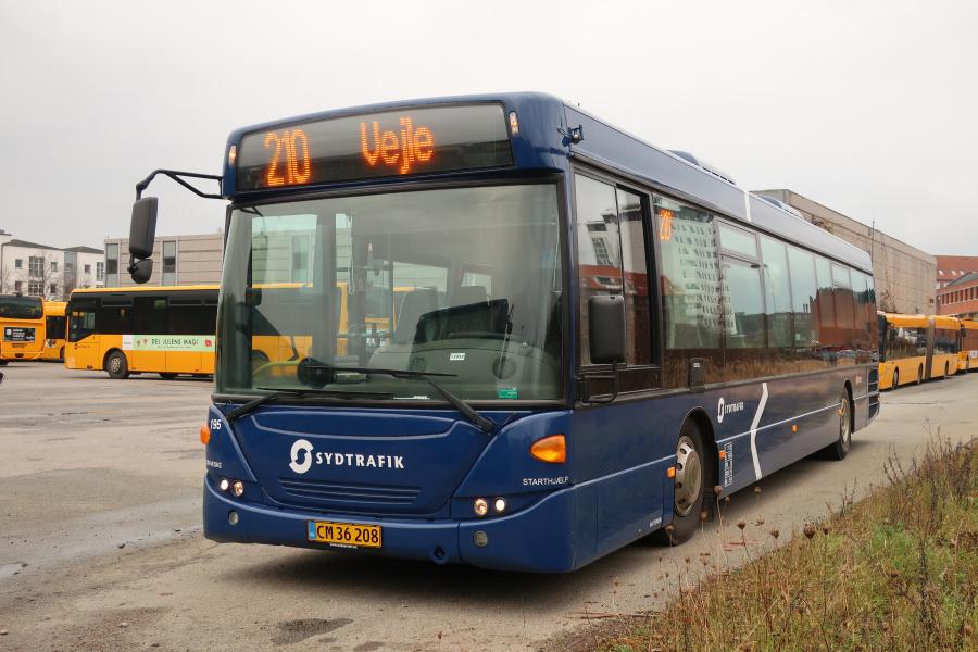 Umove 195/CM36208 på Gammelhavn i Vejle den 23. november 2019