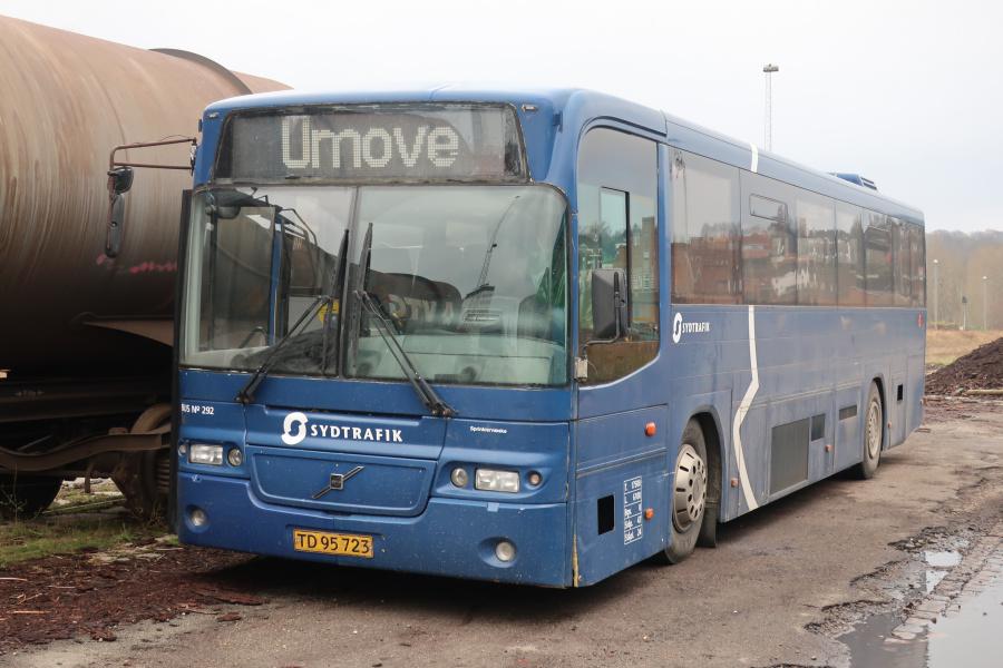 Umove 292/TD95723 på Gammelhavn i Vejle den 23. november 2019