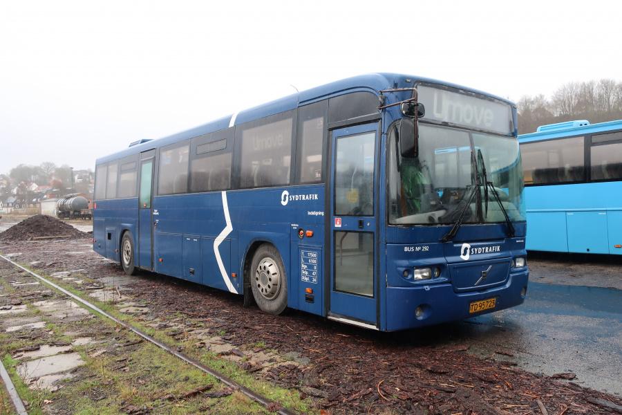 Umove 292/TD95723 på Gammelhavn i Vejle den 8. december 2019