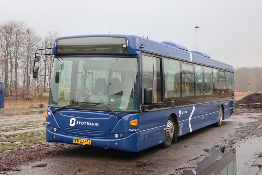 Umove 190/CK23862 på Gammelhavn i Vejle den 12. december 2019
