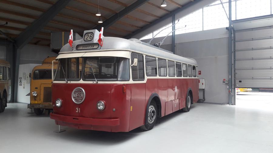 NESA 31 på Sporvejsmuseet Skjoldenæsholm i 2018