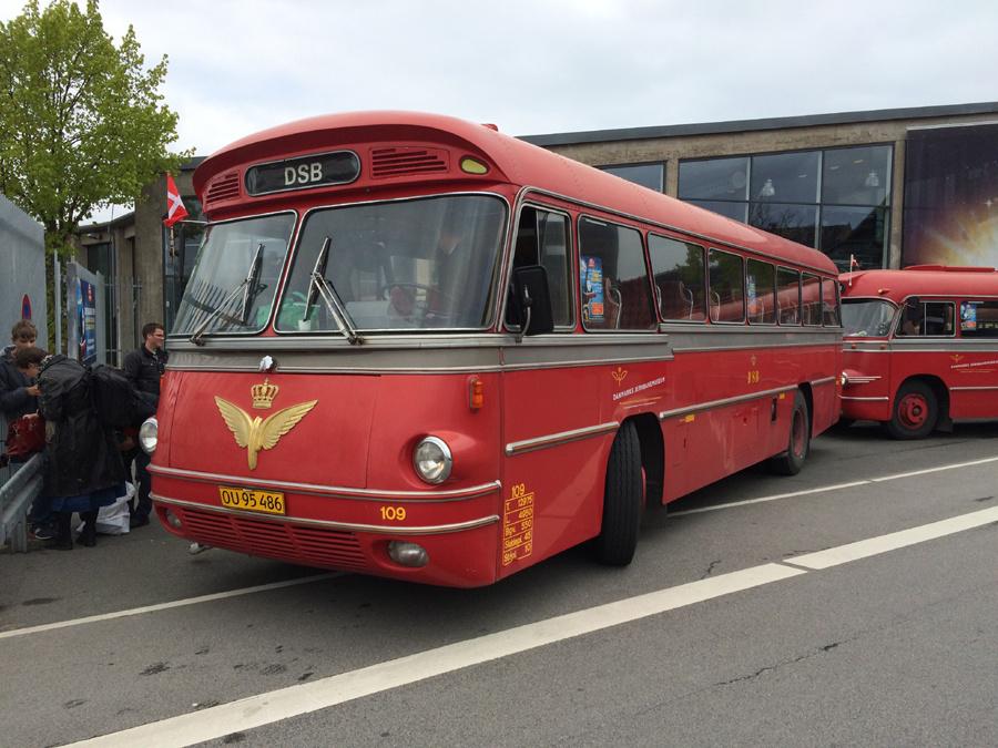 DSB 109/OU95486 ved Jernbanemuseet i Odense i 2017