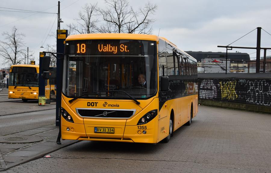 Arriva 1355/BV31334 ved Valby Station den 4. december 2019