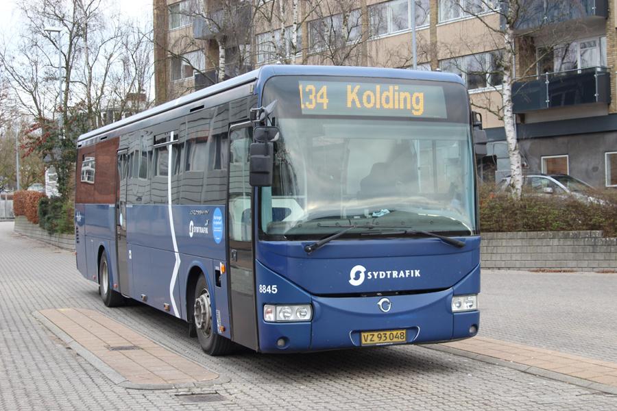 Tide Bus 8845/VZ93048 i Haderslev den 27. december 2019