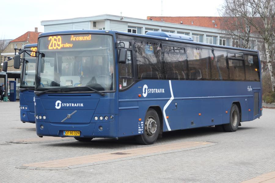Tide Bus 8819/CF90329 i Haderslev den 27. december 2019