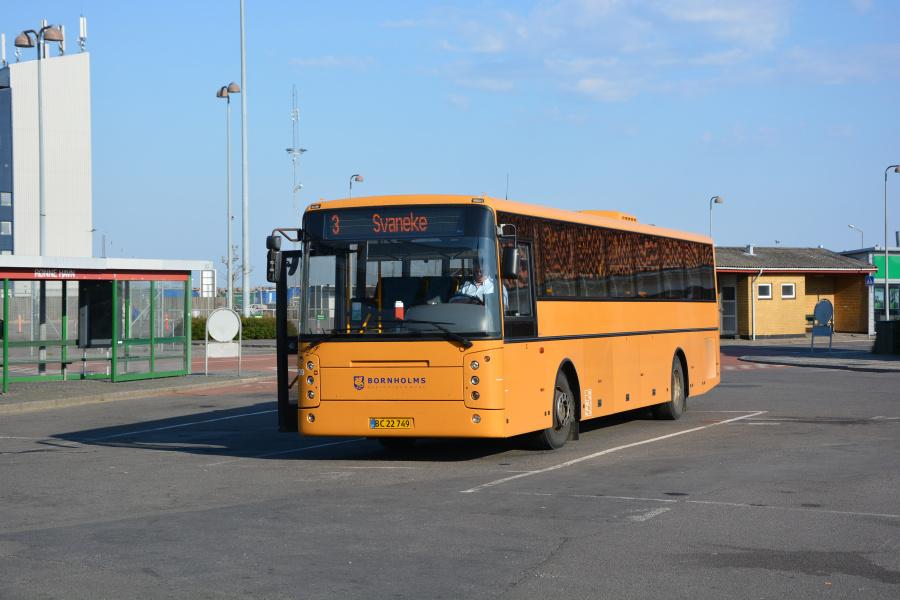 BAT 739/BC22749 i Rønne den 17. maj 2018