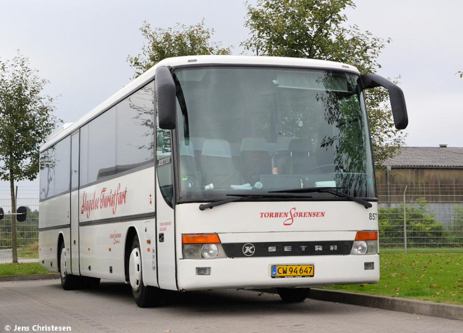 Torben Sørensen 857/CW94647 i Harislee, Tyskland den 2. september 2012