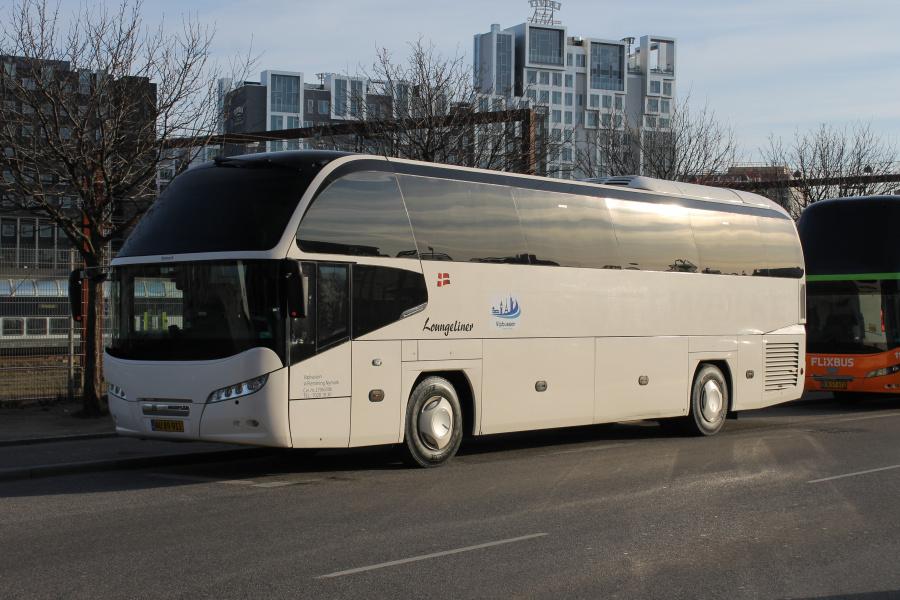 Vipbussen AU89911 på Ingerslevsgade i København den 1. marts 2019