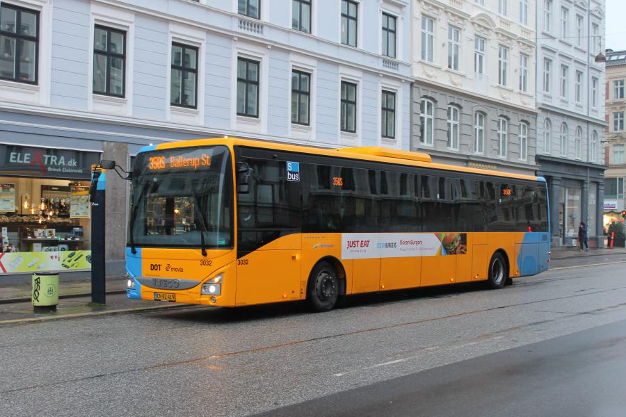Anchersen 3032/CN92419 på Frederiksborggade i København den 23. december 2019