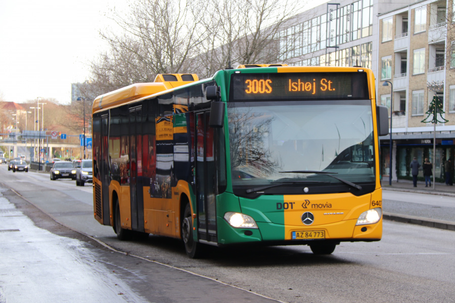 Nobina 6407/AZ84773 i Lyngby den 1. december 2019