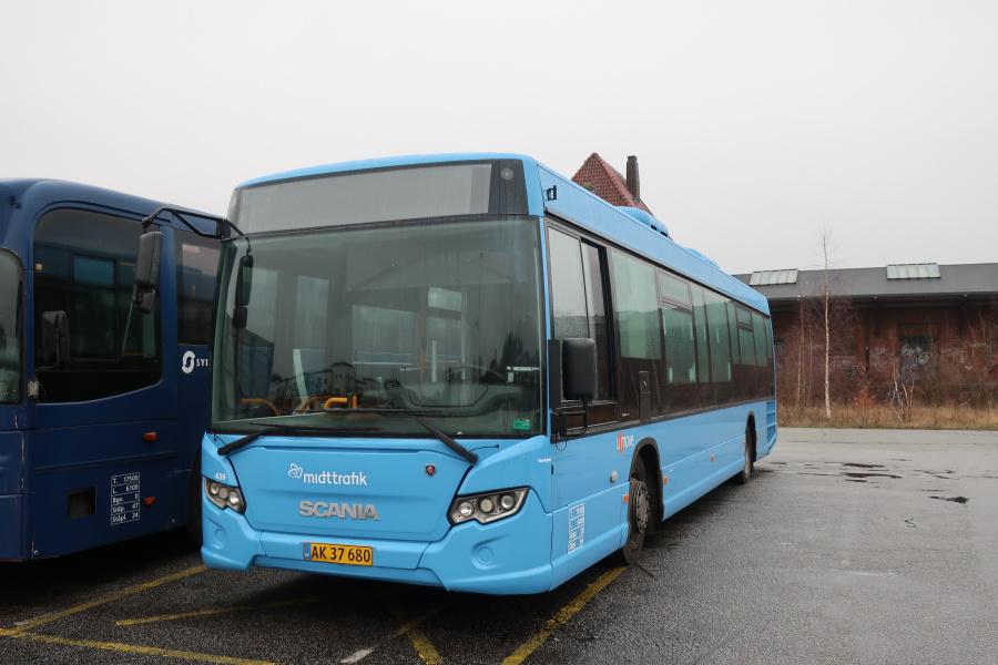 Umove 439/AK37680 på Gammelhavn i Vejle den 17. december 2019