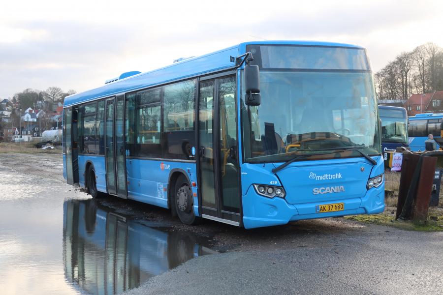 Umove 439/AK37680 på Gammelhavn i Vejle den 18. december 2019