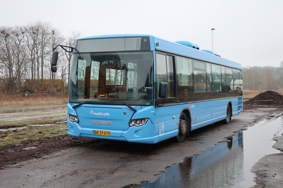 Umove 438/AK37679 på Gammelhavn i Vejle den 20. december 2019